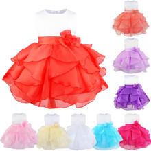 Coral Cute Baby Flower Girl Dresses