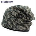 Wholesale men's winter hat gorras thicken fleece beanies for men casual sports skullies snapback protect head warm caps