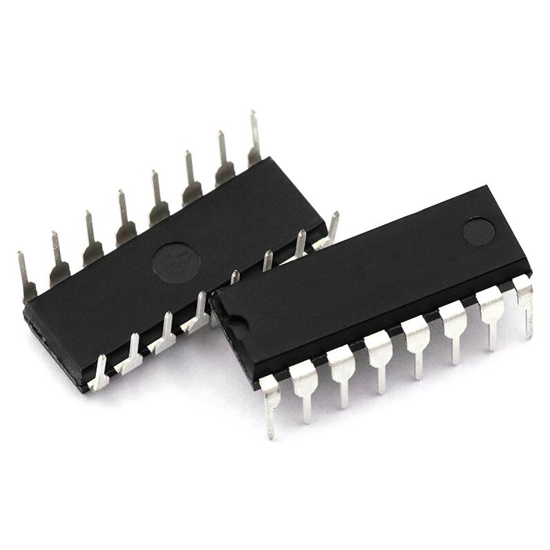5pcs/lot CD4026 <font><b>CD4026BE</b></font> 4026 IC CMOS Counters Decade/Divider DIP-16 image
