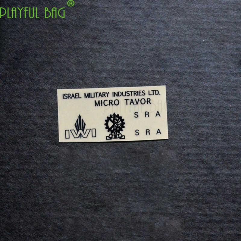 Nova Waugh TAR21 gel arma bomba de água à prova d' água de metal DIY adesivo Jinming CICATRIZ M4 novo weal g36 Le Hui ak74U l37