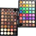 2017 Nuevo Profesional 40 Colores Paleta de Sombra de Ojos Tierra Color Mate Shimmer Pigmento Paleta de Sombra de Ojos Cosméticos Maquillaje