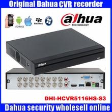 Original Dahua HCVR video recorder DHI-HCVR5116HS-S3 16ch 1080P Support HDCVI/CVBS/IP Camera DH-HCVR5116HS-S3