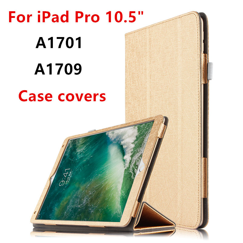 Case For iPad Pro 10.5 inch New 2017 Protective Smart Cover Leather Tablet For Apple ipad pro10.5 ipadpro105 PU Protector cases official original 1 1 case cover for apple ipad pro 12 9 2017 cases tpu smart clear cover for ipad pro ipad plus 12 9 2015 case