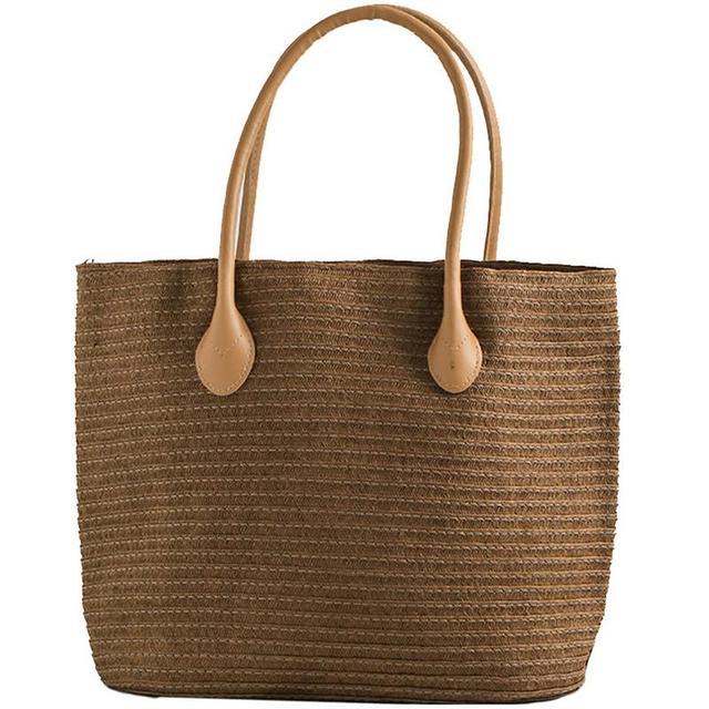Straw Woven Bag Beach...