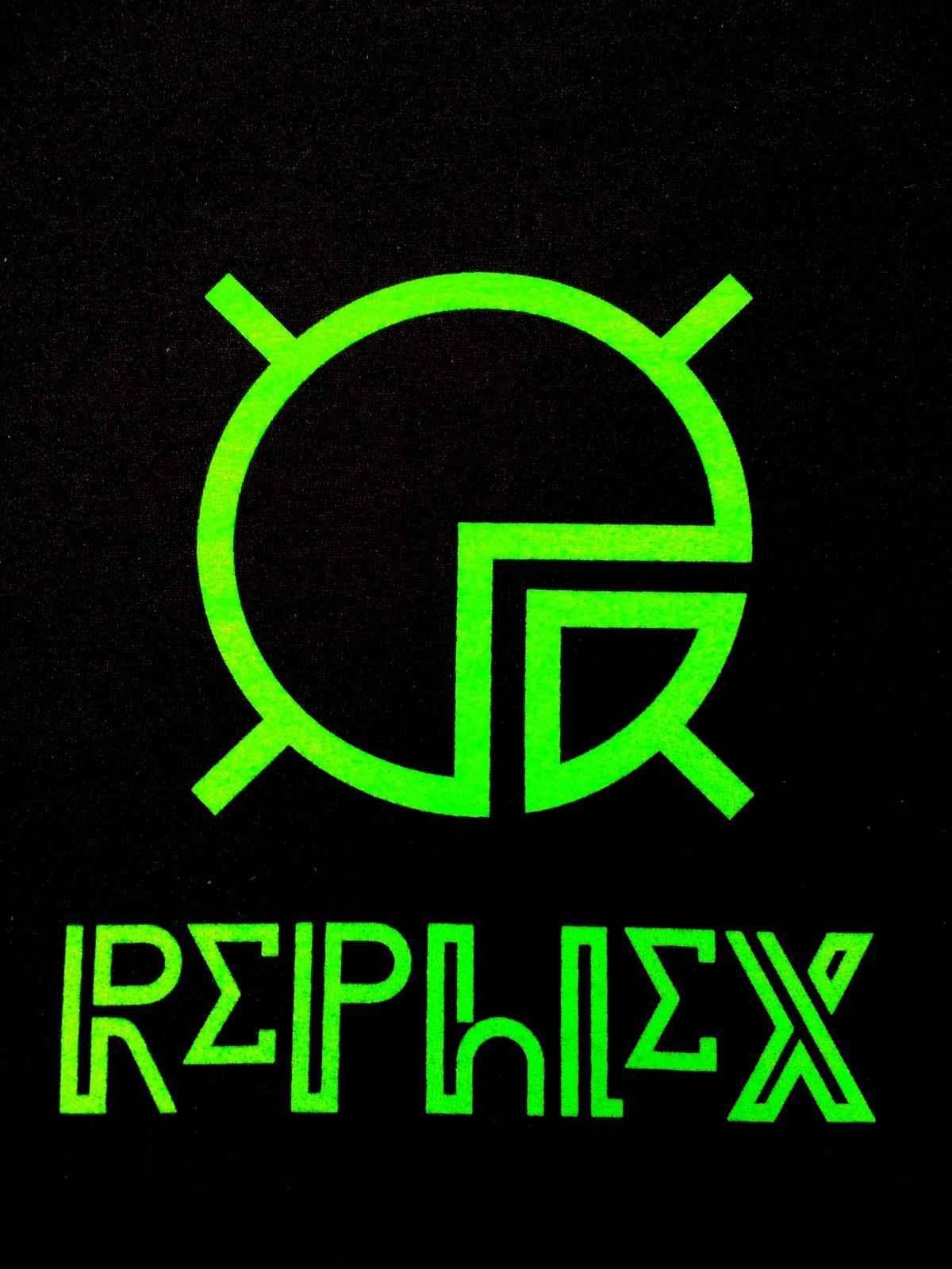 REPHLEX RECORDS T-SHIRT APHEX TWIN AFX WARP BOCHUM WELT KOSMIK KOMMANDO  CYLOB