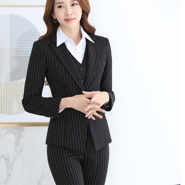 Female  Spring and Autumn Formal wear   Work clothes OL business attire