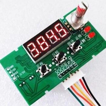 DC 8-24V tachometer display 12V Stepper Motor Driver Controller Board Speed Adjustable Reversal