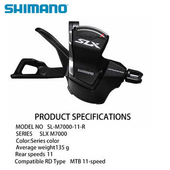 SHIMANO SLX M7000 Bike Shifter Bike Rear Derailleur MTB Bike Brake Shifter Rear Lever Speeds 11 Bike Derailleur Bicycle Shifter