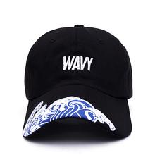 2017 New Men Women Fashion Hip hop Dancers Hat Waves Visor Baseball Caps Cool Funny Summer