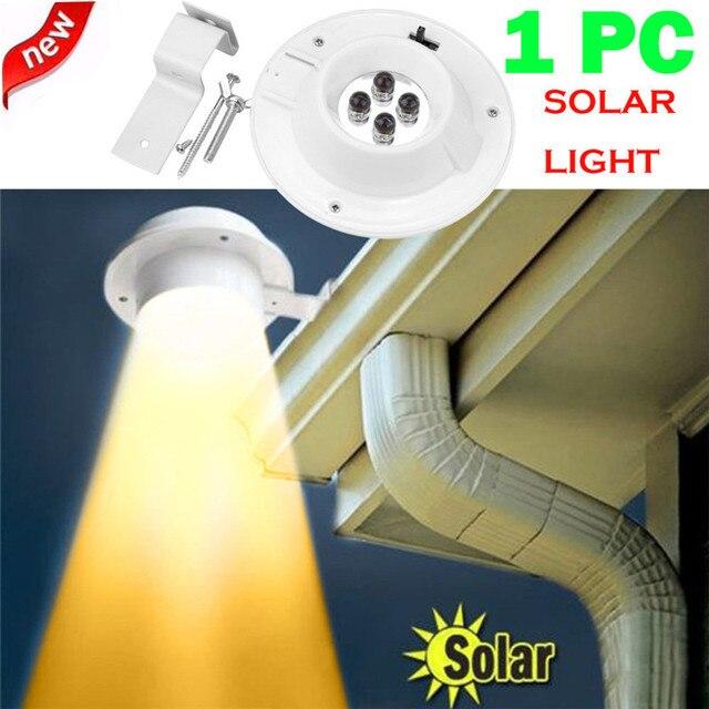 New Led Solar Ed Gutter Light