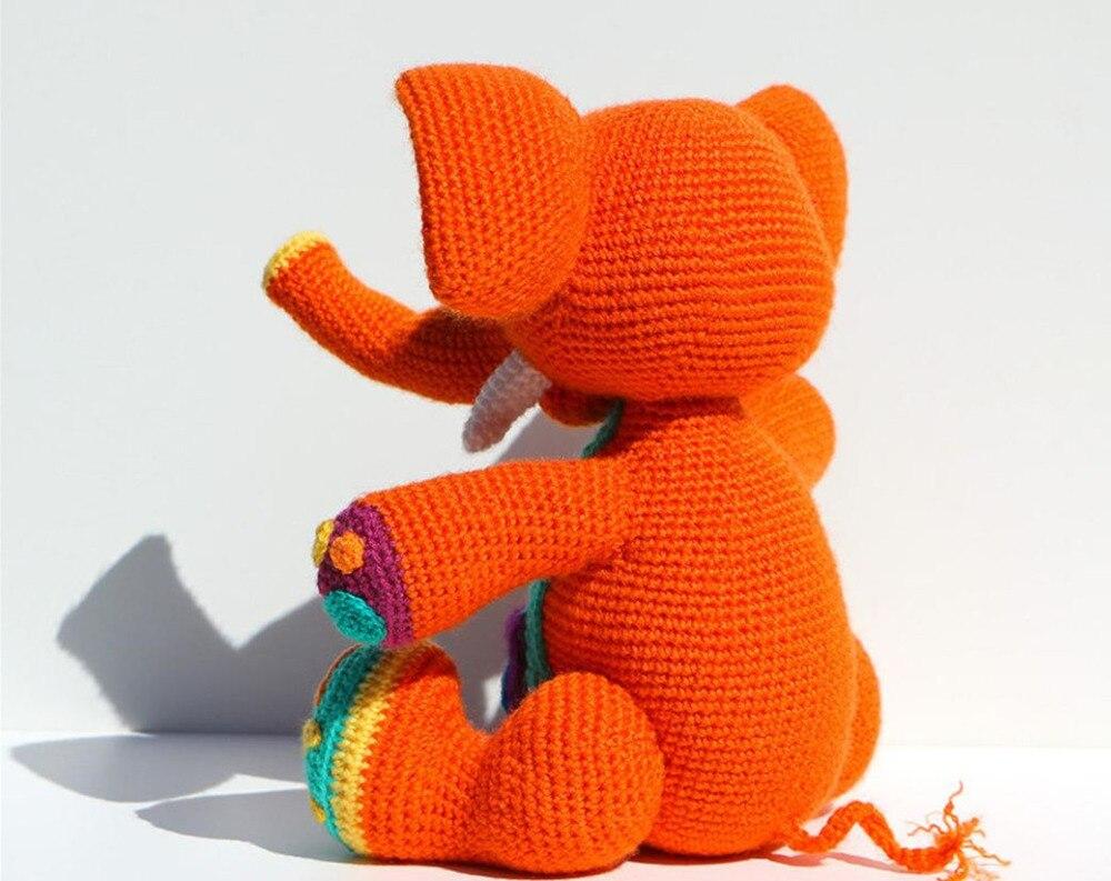 Crochês da Fá: Amigurumi - Elefante (parte 2) | 793x1000