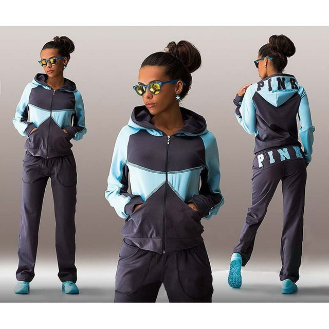 Sailor Moon Promotion 2016 Women's Tracksuits Letter Autumn Hoodie For Women Tops Pants Woman 2pc Set Sporting Suits new
