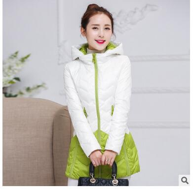Autumn and winter new women thicken warm down jacket in the long winter Korean version of the hit color Slim zipper down jacket purnima sareen sundeep kumar and rakesh singh molecular and pathological characterization of slow rusting in wheat