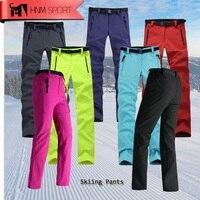 2017 Update Women Thick Warm Fleece Softshell Pants Fishing Camping Hiking Skiing Trousers Waterproof Windproof Drop