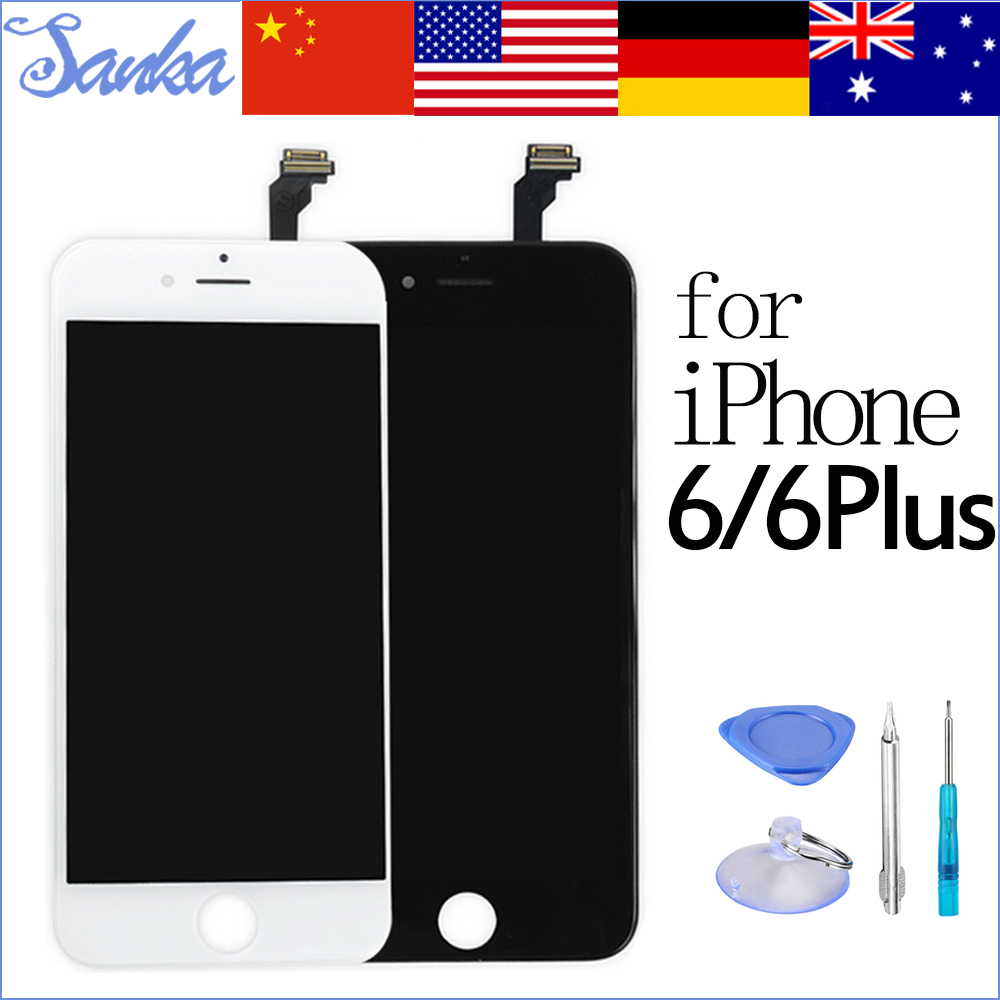 SANKA For iPhone 6 6 PLUS LCD Touch Screen Display Digitizer Assembly Replacement Ecran Pantalla LCD Mobile Phone Parts