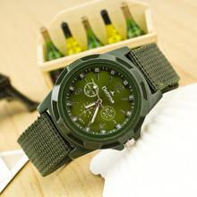 2018 Men Nylon Band Military Watch Gemius Army Watch High Quality Quartz Movement Men Sports Watch Casual Wristwatches Clock