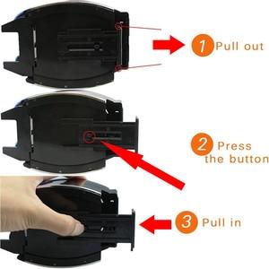 Image 4 - Bekerholder support pour voiture, accessoire noir pour voiture, gobelet pour boissons, grille de ventilation porte bouteille pour bouteilles deau, support de téléphone