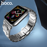HOCO 2019 Stainless Steel Strap for Apple Watch Band 40mm 44mm Metal Links Bracelet Smart Watch Strap for i Watch Series 4 3 2 1
