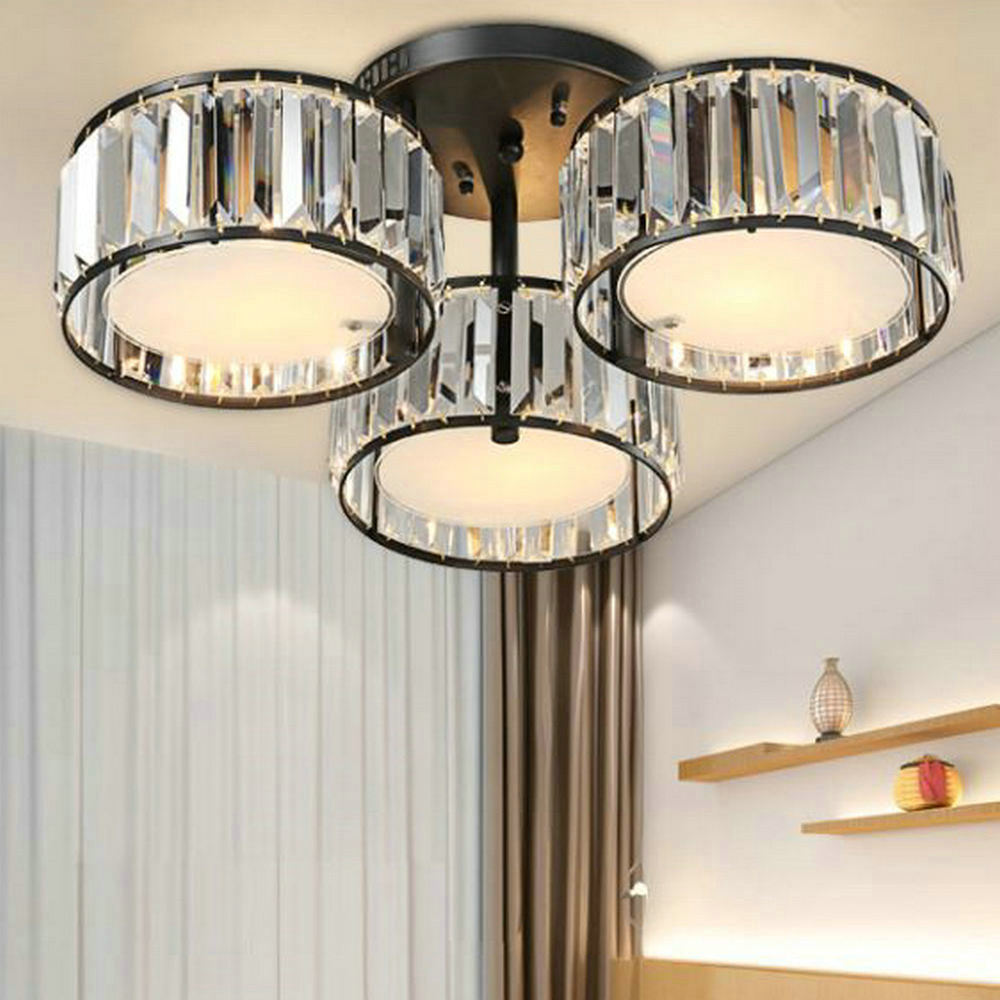 Lampe Decke Wohnzimmer Moderne Kristall Celling Licht K9 Kristall Plafon Led Acryl Lampe