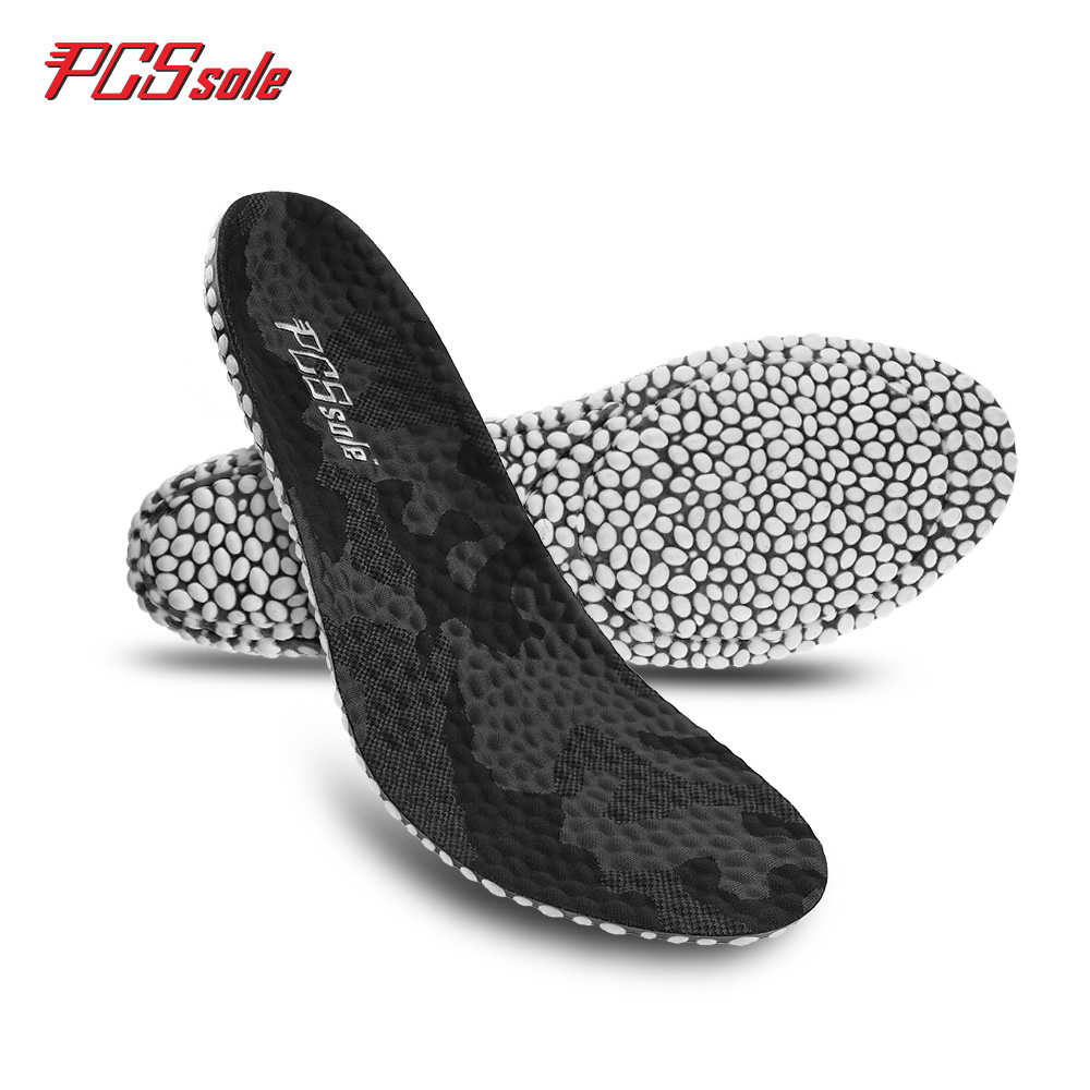 PCSsole Elastic Sports Shock Insole TPU Popcorn Mat Breathable Insoles Fitness Accessories Insoles Men And Women Models C1007