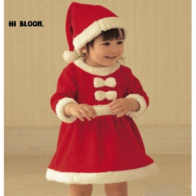 Marca Per Bambini Natale Vestiti Del Bambino Abiti Di Natale Costume di  Babbo natale Per I 28041b0158b