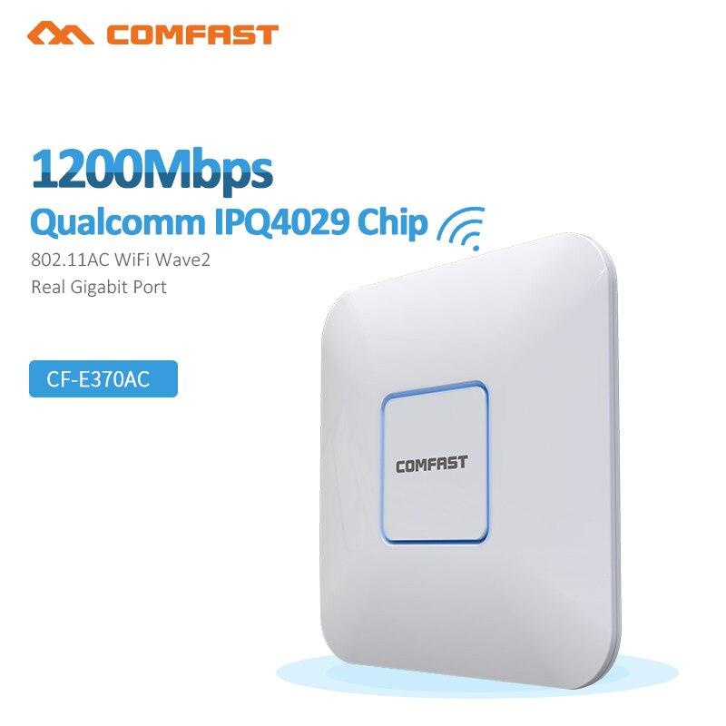 Comfast 1200M Dual band Gigabit Wireless home wifi repeater bridge signal booster Amplifier 4*3dBi Antenna wi fi access point Ap цена