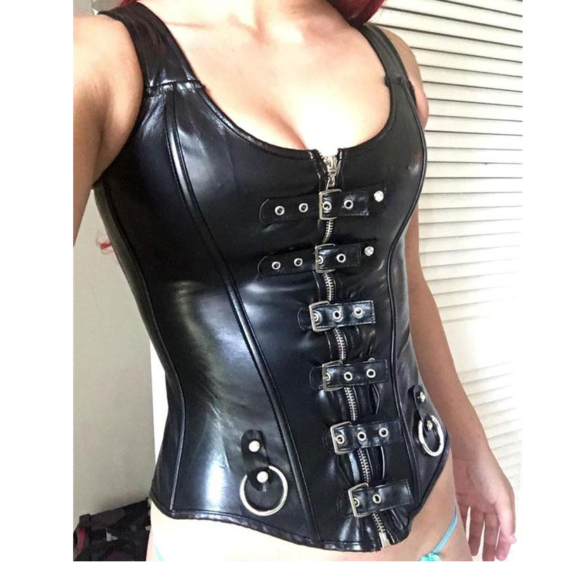 Wholesale Women Sexy Slimming Waist Trainer Cincher Corset Lace Up Overbust Bustier Top Steampunk Role-Playing Dress Plus Size sexy women s slimming printed lace up corset