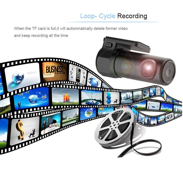 2018 Auto Mini WIFI Dash Cam Car DVR Camera Dashcam Video Recorder Digital Registrar Auto Cam Corder Monitor Wireless Car DVRs 4