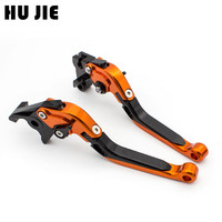 Brake Clutch Lever For HONDA CBR1000RR 2004 2007, CB1000R 2008 2014 Motorcycle Accessories Folding Extendable logo REPSOL