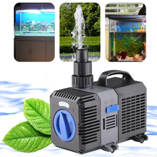 цены water pump aquarium 220v variable frequency Eco Aquarium submersible 80W pump Water Filter Circulation Fountain bomba de agua