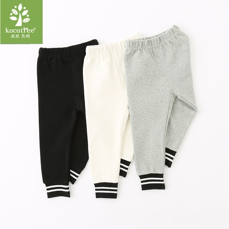 2018 hot sale spring and autumn kids clothing boys girls cotton pants trousers baby pants 010 spring autumn mid elastic harlan trousers solid kids legging fashion boys girls long pants kids toddler 100% cotton