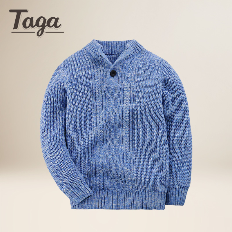 TAGA 2017 Children Baby Boys Sweater Turtleneck Sweater Tiny Cotton ...