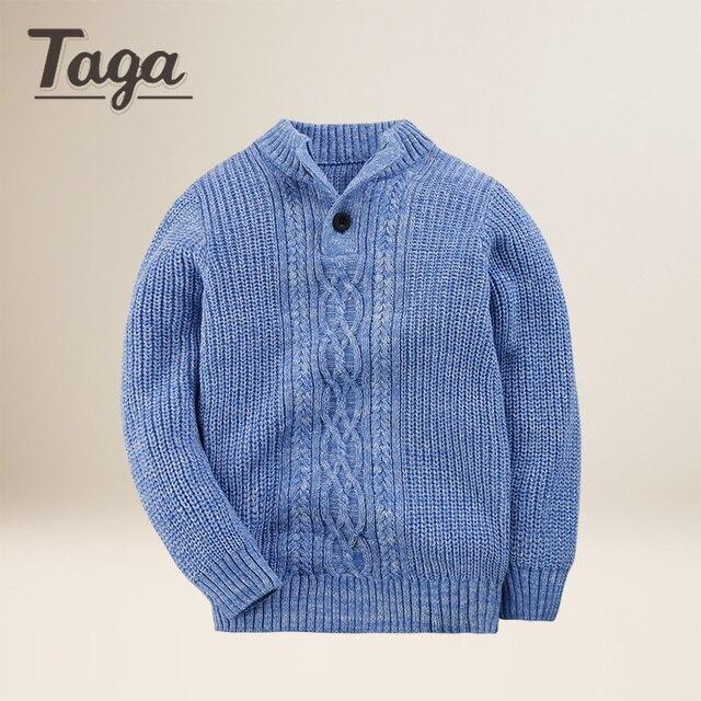 8caa62dc3828 TAGA 2017 Children Baby Boys Sweater Turtleneck Sweater Tiny Cotton ...