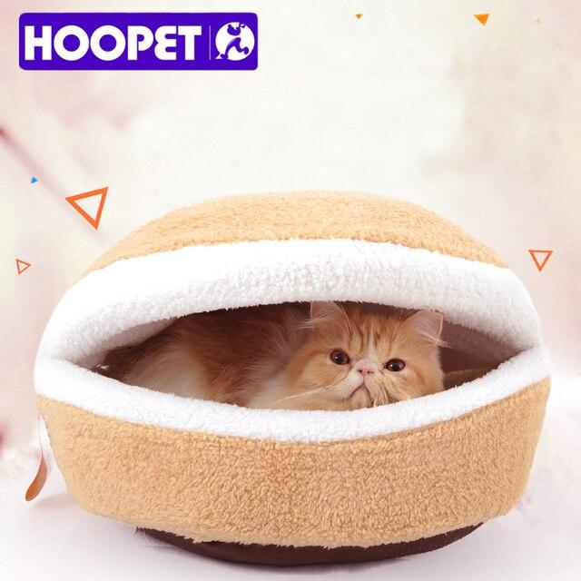 Warm Cat Hamburger Bed  1