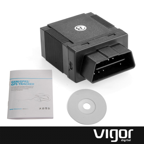 OBD II Car Vehicle Personal Mini GPS Tracker GSM//GPRS Realtime Tracking Device