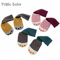 Kid's socks male small claws loop pile sock slippers stripe knee-high socks set infant socks