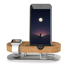 Real Wood Phone Desktop Stand