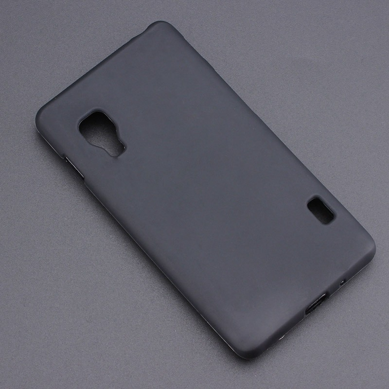Black Gel TPU Slim Soft Anti Skiding Case Back Cover For LG Optimus L5 II 2 E450 E455 E460 Mobile Phone Rubber silicone Bag