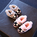 Children 'S Cotton Shoes Girls/Boys Winter Home Slippers Plus Cotton Indoor Shoes Kids Baby Warm Plush Soft Bottom Velvet Shoe