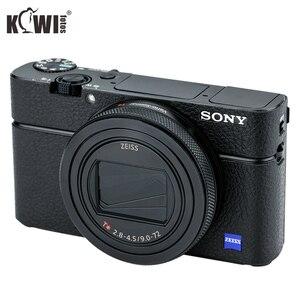 Image 1 - KIWIFOTOS KS RX100VIL Camera Da Trang Trí Cho Sony RX100 VI Với Ướt Vệ Sinh Lau Máy Ảnh Trang Trí