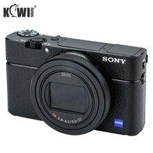 KIWIFOTOS KS RX100VIL Camera Lederen Decoratie Sticker Voor Sony RX100 VI Met Nat Schoonmaken Camera S Decoratie