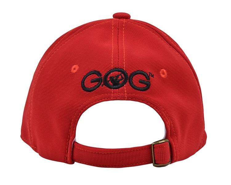 d6e43a72728 2017 New Brand Red GOG golf Caps Professional cotton golf ball cap High  Quality sports golf hat