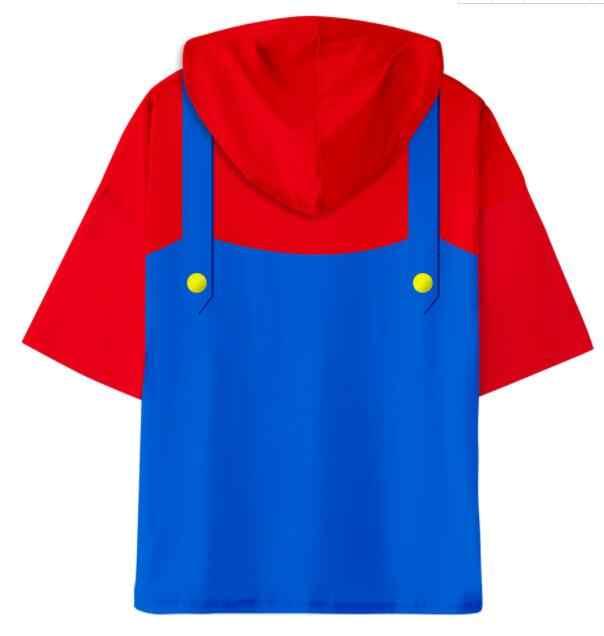 ใหม่ Super Mario Bros เด็ก Cool ghost 3D เสื้อยืดเด็กชายเด็กหญิงเด็กตลกฮาโลวีนโคมไฟฟักทองกะโหลกศีรษะพิมพ์ Punk tshirt