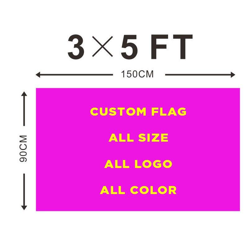 Temperamentvoll Heißer Verkauf Custom Flagge 3ft X 5ft Polyester Anpassen Fahnen Und Banner Fahnen, Banner & Zubehör