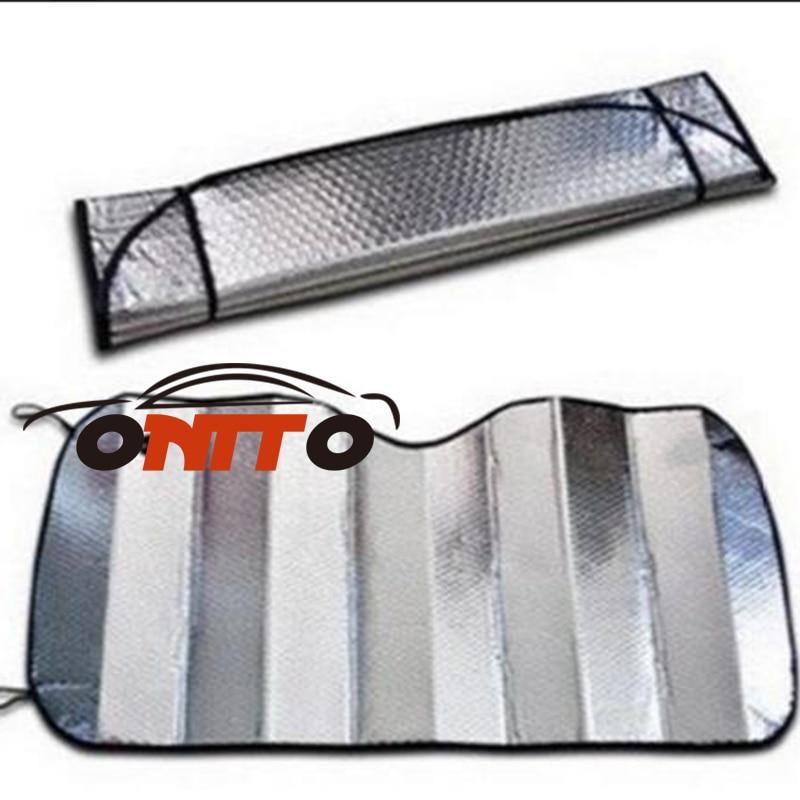 Free shipping 1pcs /lot Aluminum foil Car Sun Visor Auto Visor sunshade For Mitsubishi Lancer 10 9 EX Eclipse Galant outlander
