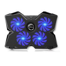 """Laptop Cooling Pad 12 """" 17"""" Kühler Pad Chill Matte 4 Ruhigen Fans Ventilador Usb Einstellbare Halterungen Laptop stand Höhe Winkel"""