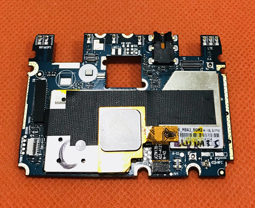 Used Original Mainboard 2G RAM+16G ROM Motherboard For DOOGEE Y6C MTK6737 Quad Core 5.5