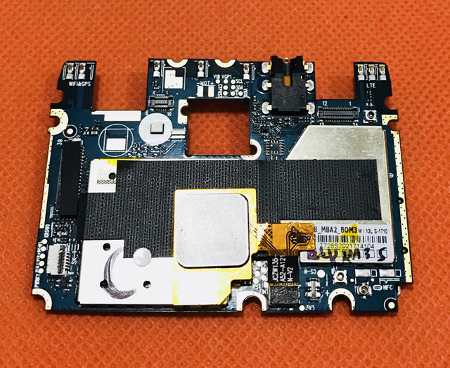 """Used Original mainboard 2G RAM+16G ROM Motherboard for DOOGEE Y6C MTK6737 Quad Core 5.5"""" HD Free shipping"""