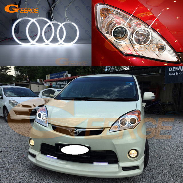For perodua alza 2009 2010 2011 2012 2013 2014 2015 excellent ultra bright illumination ccfl angel