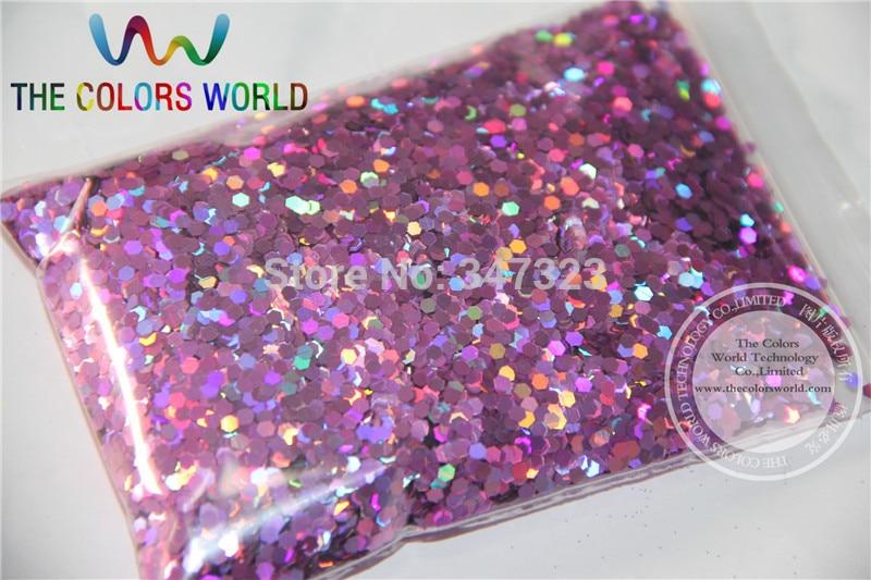 2 MM Holographische Pfirsich Farbe Glitter Beregnung Pailletten für nail art und andere DIY zubehör